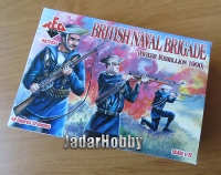 Red Box RB72033 (SALE) 1/72 British Naval Brigade (Boxer Rebellion 1900)