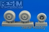 RES-IM 32002 1/32  Su-25 wheel set