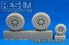RES-IM 32003 1/32  F-15 ABCD wheel set
