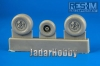 RES-IM 4810 1/48 Su-25 Wheel Set