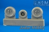 RES-IM 4812 1/48  MiG-21 late wheel set