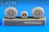 RES-IM 7232 1/72 F-15 A/B/C/D wheel set