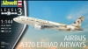 Revell 03968 1/144 Airbus A320 ETIHAD AIRWAYS