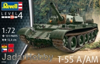 Revell 03304 1/72 T-55A/AM