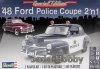 Revell 85-4318 1/25 '48 Ford Police Coupe 2 'n 1