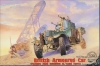 Roden 802 1/35  WWII British Armored Car (modified w/Sand Tires)