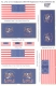 Rofur 1/72-013 US Infantry 1861-65. Regimental and National Flags (1)
