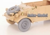 QuickWheel QWX-034 1/35 Kubelwagen wheels + spare wheel, Off-road tread 1