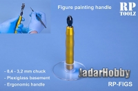 RP Toolz RP-FIGS Figure paiting handle with acrylic basement