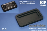 RP Toolz RP-TH Tray for Hexagonal Punch and die sets