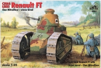 RPM 35061 1/35 Renault FT Char Mitrailleur with Girod turret (nowa kalkomania)