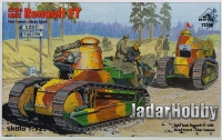 RPM 72200 1/72 Renault FT Char Canon - wieża Girod