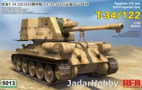 Rye Field Model RM-5013 1/35 T-34/122 Egyptian SPG