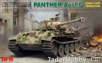 Rye Field Model RM-5018 1/35 Panther Ausf.G Early/Late productions