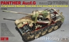 Rye Field Model RM-5019 1/35 Panther Ausf.G with Full Interior & Cut Away Parts