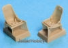 S.B.S Model 48007 1/48 Bf-109E seats with harness