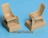 S.B.S Model 48008 1/48 Bf-109E seats without harness