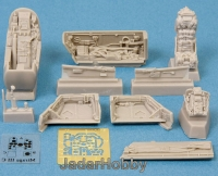 S.B.S Model 48014 1/48 Mirage III Detail set (cockpit/wheel bays)