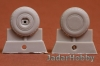S.B.S Model 48052 1/48 P-40 wheel set (block tread 30) for P-40 B-M