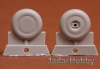 S.B.S Model 48053 1/48 P-40 wheel set (plain 30) for P-40 B-M
