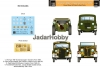 S.B.S Model D35001 1/35 Hungarian Military Passenger cars in WWII