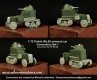 Scibor 72HM0027 1/72 Polish Wz.28 Conversion set 1