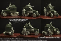 Scibor 72HM0029 1:72 Polish Wz.28 Conversion with crew