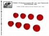 SG-Modelling F72065 1/72 Rear lights for Soviet vehicles, type 1, 8pcs.