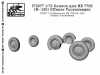 SG-Modelling F72077 1/72 Wheels for MB 770K (W-150) Offener Tourenwagen, 8pcs.