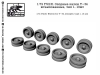 SG-Modelling F72131 1/72 Wheels for T-34, stamped, type 1 (10 pcs.)