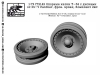 SG-Modelling F72142 1/72 Wheels for T-34, ersatz front-line (Wheels Pz-V Panther) 2pcs