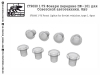 SG-Modelling F72020 1/72 Front lights for Soviet vehicles, type 1, 8pcs