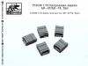 SG-Modelling F72039 1/72 Ammo box set for AK-47/74, 5pcs
