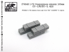 SG-Modelling F72043 1/72 Ammo box set for SU-100/BS-3, 4pcs