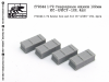 SG-Modelling F72044 1/72 Ammo box set for IS-2/ISU-152, 4pcs