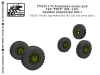 SG-Modelling F72153 1/72 GAZ Tigr wheels set (KI-115) hub cover type 1