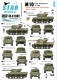 Star Decals 35-C1002 1/35 M10 Tank Destroyer in Italy. France, South Africa, New Zealand, Britain, Poland.