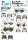Star Decals 35-C1005 1/35 French Renault VAB and VAB Sanitaire, UNPF/UNPROFOR and IFOR.