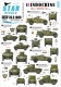 Star Decals 35-C1006 1/35 French Humber SC, White Scout and Panhard 178.