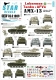 Star Decals 35-C1009 1/35 AMX-13/75 and Amx-13/90. Lebanese Army and Militias