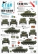 Star Decals 35-C1013 1/35 A34 Comets in Hong Kong. 1 RTR and 3 RTR. British Comets #2