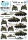 Star Decals 35-C1015 1/35 French AMX-30 B2. French Cold War and modern markings.