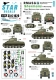Star Decals 35-C1020 1/35 RMASG Shermans - Royal Marines tanks in Normandy. Sherman Mk V