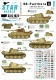 Star Decals 35-C1022 1/35 SS-Panthers # 3 - 2. SS-Das Reich, France and Belgium. Ausf D and A