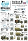 Star Decals 35-C1028 1/35 Balkan Peacekeepers # 5. British Land Rover. UN, IFOR, SFOR