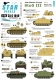 Star Decals 35-C1040 1/35 Axis/Eastern Europe StuG III #2. Bulgaria, Spain, Italy, Yugoslavia