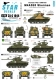 Star Decals 35-C1044 1/35 Korean War M4A3E8 Sherman 'Tigerface'