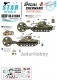 Star Decals 35-C1049 1/35 US Special Shermans. Aunt Jemima and other mine exploder tanks.