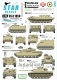 Star Decals 35-C1050 1/35 Iranian Tanks & AFVs # 1. Iran Army during the Iraq-Iran War 1980s.