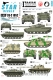 Star Decals 35-C1052 1/35 Iranian Tanks & AFVs # 3. NLA - National Liberation Army / Mujahedin.